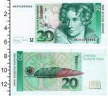 Изображение Банкноты ФРГ 20 марок 1993  UNC-