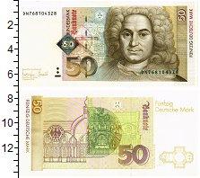Изображение Банкноты ФРГ 50 марок 1996  UNC