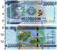 Изображение Банкноты Гвинея 20000 франков 2018  UNC