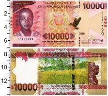Изображение Банкноты Гвинея 10000 франков 2018  UNC