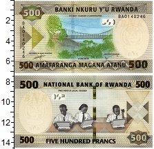 Изображение Банкноты Руанда 500 франков 2019  UNC