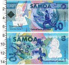 Изображение Банкноты Самоа 10 тала 2010  UNC
