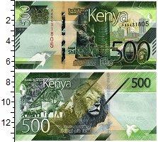 Изображение Банкноты Кения 500 шиллингов 2019  UNC