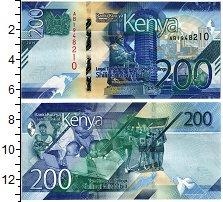 Изображение Банкноты Кения 200 шиллингов 2019  UNC