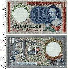 Изображение Банкноты Нидерланды 10 гульденов 1953  XF