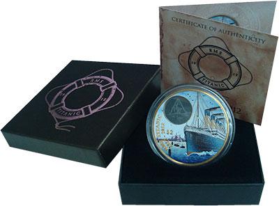 Изображение Подарочные монеты Северная Америка Виргинские острова 2 доллара 2012 Бронза Proof