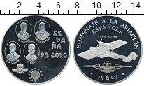 Изображение Монеты Испания 25 экю 1997 Серебро Proof