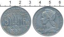 Изображение Монеты Реюньон 5 франков 1955 Алюминий XF