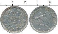 Изображение Монеты Чили 20 сентаво 1940 Медно-никель XF
