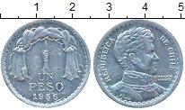 Изображение Монеты Чили 1 песо 1956 Алюминий XF