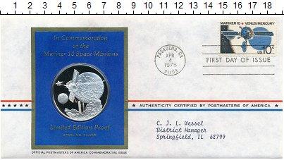 Изображение Подарочные монеты США Медаль 1975 Серебро Proof