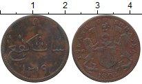 Изображение Монеты Нидерландская Индия 1 кеппинг 1804 Медь XF- о.Суматра