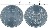Изображение Монеты Африка Мали 10 франков 1976 Алюминий UNC-
