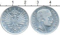 Изображение Монеты Италия 1 лира 1907 Серебро VF