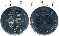 Изображение Монеты Гана 50 седи 1999 Медно-никель UNC-