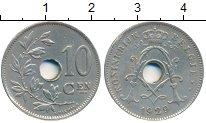 Изображение Монеты Бельгия 10 сантим 1929 Медно-никель XF