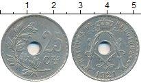 Изображение Монеты Бельгия 25 сантим 1921 Медно-никель XF