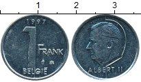 Изображение Монеты Бельгия 1 франк 1997 Медно-никель UNC- Альберт II