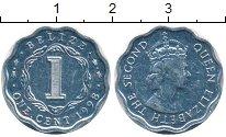 Изображение Монеты Белиз 1 цент 1998 Алюминий UNC-