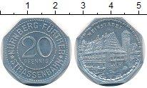 Изображение Монеты Германия : Нотгельды 20 пфеннигов 1920 Алюминий UNC- Нюрнберг