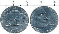 Изображение Мелочь США 5 центов 2005 Медно-никель UNC- D, Бизон