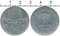 Изображение Монеты Польша 20 злотых 1974 Медно-никель XF Сельское хозяйство