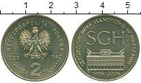 Изображение Монеты Польша 2 злотых 2006 Латунь UNC- 100 - летие  Варшавс