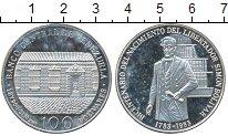 Изображение Монеты Южная Америка Боливия 100 боливиано 1983 Серебро Proof-