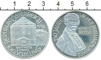 Изображение Монеты Австрия 100 шиллингов 1992 Серебро Proof- 150 лет Венской фила