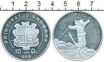 Изображение Монеты Андорра 10 динерс 2005 Серебро Proof- олимпиада