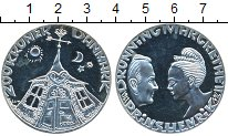 Изображение Монеты Дания 200 крон 1992 Серебро Proof-