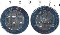 Изображение Монеты Алжир 100 динар 2018 Биметалл UNC Космический спутник