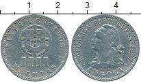 Изображение Монеты Ангола 4 макутас 1927 Медно-никель VF