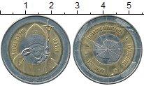 Изображение Монеты Антарктика Антарктида 10 долларов 2011 Биметалл UNC-
