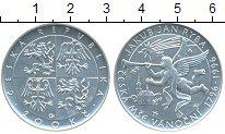 Изображение Монеты Чехия 200 крон 1996 Серебро UNC Якоб  Риба