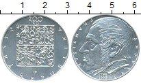 Изображение Монеты Чехия 200 крон 1998 Серебро UNC 200 лет со дня рожде