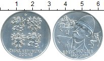 Изображение Монеты Чехия 200 крон 2002 Серебро UNC Эмиль Голуб