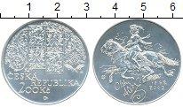 Изображение Монеты Чехия 200 крон 2002 Серебро UNC 150 лет со дня рожде