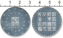 Изображение Монеты Чехия 200 крон 2004 Серебро UNC