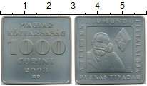 Изображение Монеты Венгрия 1000 форинтов 2008 Медно-никель UNC-