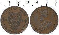 Изображение Монеты Остров Джерси 1/12 шиллинга 1923 Бронза XF Георг V