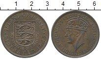 Изображение Монеты Остров Джерси 1/12 шиллинга 1945 Бронза XF Георг VI