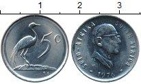 Изображение Монеты ЮАР 5 центов 1976 Медно-никель UNC-
