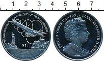 Изображение Монеты Виргинские острова 1 доллар 2013 Медно-никель UNC- 10 лет первого после
