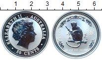 Изображение Монеты Австралия 50 центов 2004 Серебро Proof