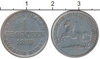 Изображение Монеты Германия Брауншвайг 1 грош 1858 Серебро VF