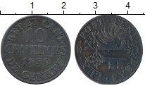 Изображение Монеты Женева 10 сентим 1839 Серебро XF