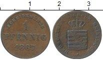 Изображение Монеты Саксе-Мейнинген 1 пфенниг 1867 Медь VF