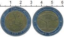 Изображение Монеты Йемен 20 риалов 2004 Биметалл VF