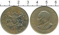 Изображение Монеты Кения 10 центов 1978 Латунь VF Мзее Йомо Кеньятта